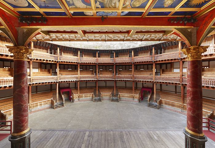 """""""All the world's a stage""""- Need to see this actual stage. Globe Theater"""