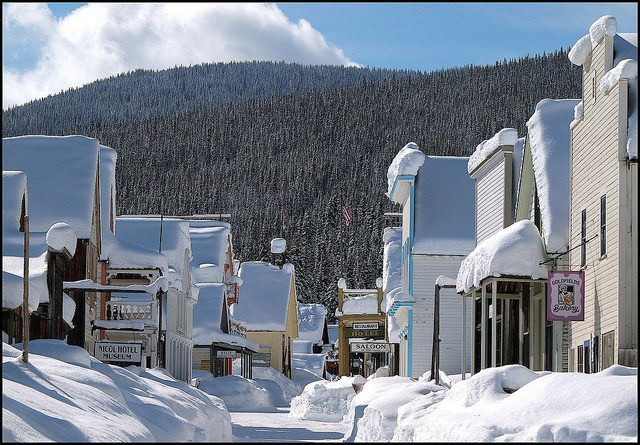 Barkerville, B.C. ~ by abbenquesnel, via Flickr