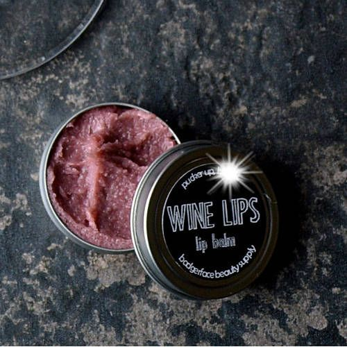 Wine Lips Lip Scrub. Wine Gifts for Women. Wine Lover Gift.