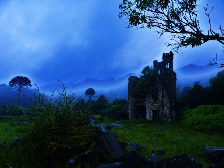 Ruins near Wainstalls UK