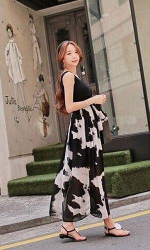 Chiffon maxi dresses online india