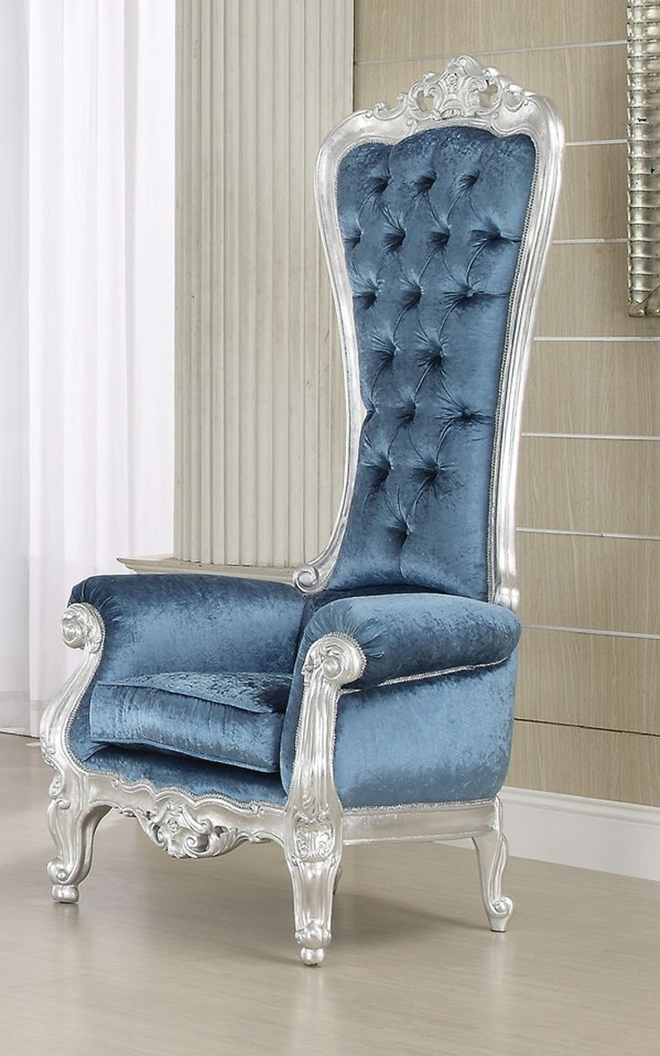 french style victorian extreme high back royal throne accent armchair chairs pinterest. Black Bedroom Furniture Sets. Home Design Ideas