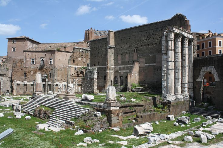 a) Forum Augustum b) vowed in 42bce, built 28-2bce c) marble? d) Piazza del Grillo, Rome e) for the people (gift to the citizens); housed the temple of Mars Ultor (Mars the Avenger); Pliny the Elder called it one of the most beautiful buildings in the world