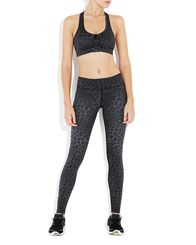 Black Leopard Rockell Elite Compression Tights | Vie Active at Fire and Shine | Womens leggings $140.00 #fitfashion #ootd #flatlay #new #justarrived #borellidesign #blsportswear #wellicious #borellidesign #yoga #pilates #gym #barre #hiit #circuit #younameit #fireandshine