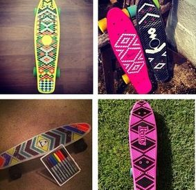 Penny board design