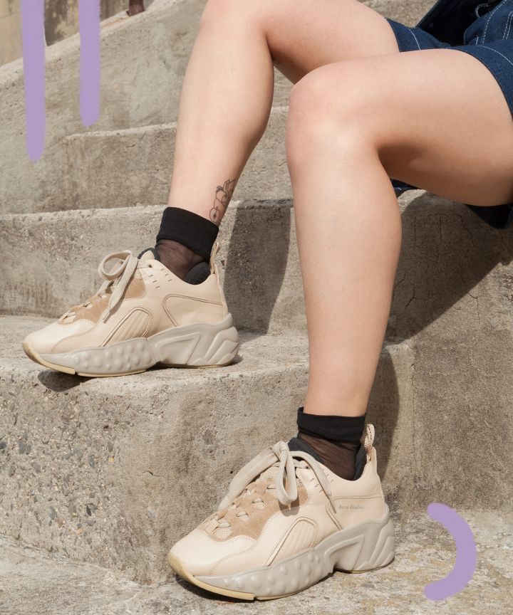 852be4f5829ee How To Wear Athletic Ugly Chunky Sneakers Spring Trend