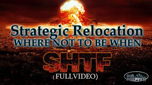 Strategic Relocation: Where To Go When It Hits the Fan (FULL VIDEO) - Bio Prepper
