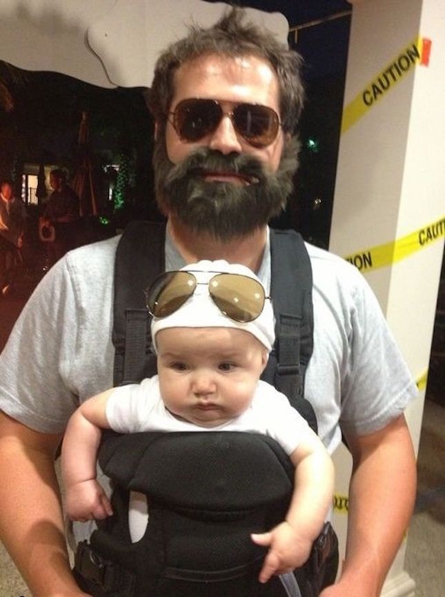 Alan and Carlos Hangover Family Costume