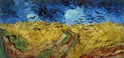 [Van Gogh - Pole pszenicy z wronami]