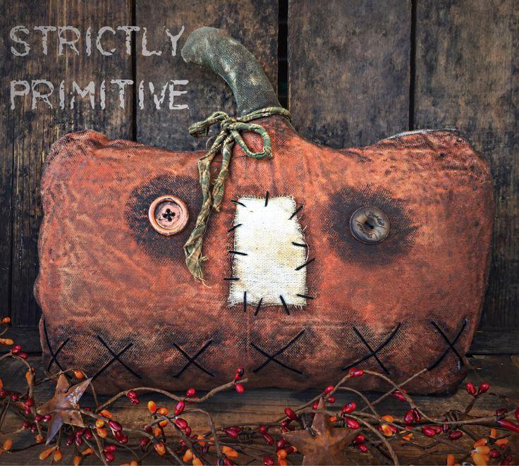 halloween pumpkin - Primitive Pumpkin - primitive fall decor- primitive pumpkins - fall decor - primitive decor by StrictlyPrimitive on Etsy https://www.etsy.com/listing/464765821/halloween-pumpkin-primitive-pumpkin