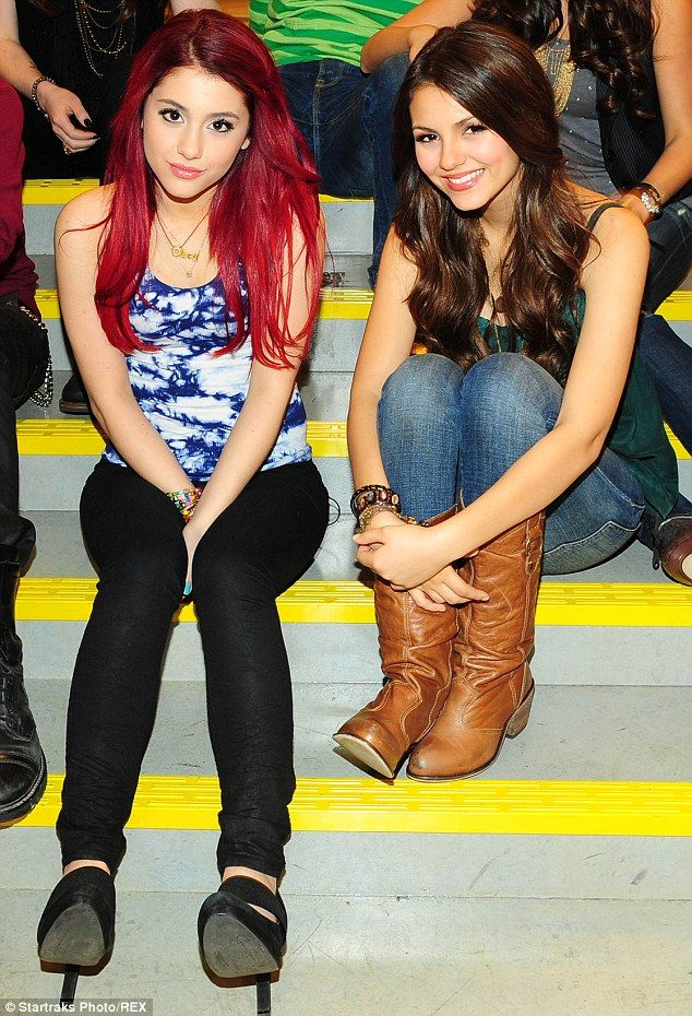 Former BFFs: Ariana and Victoria starred in the Nickelodeon series Victorious from 2010 to...