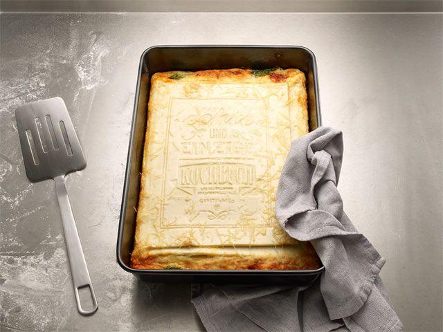 Tasarım Dünyası: Yenilebilen yemek kitabı!