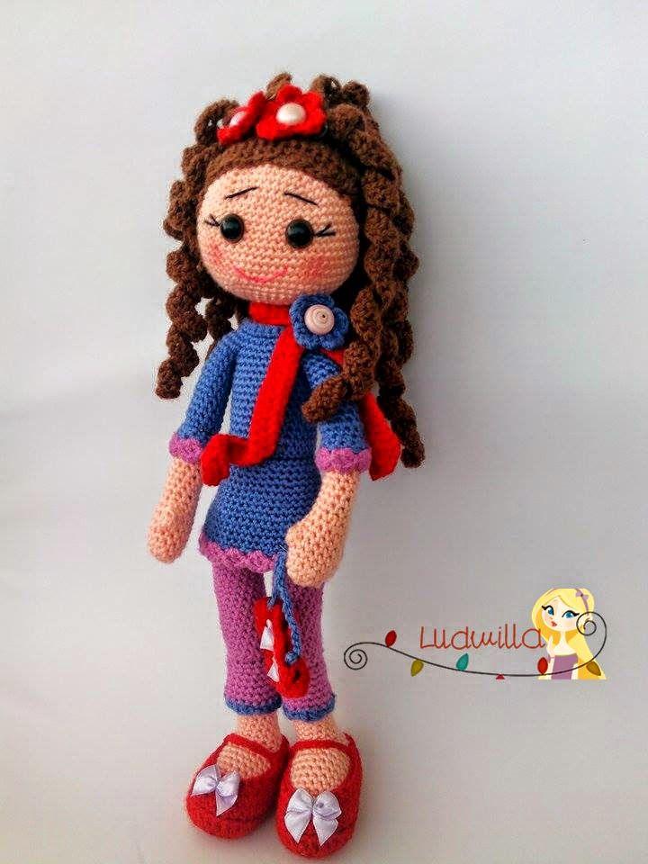 Ludmilla ile Örmece: Amigurumi Tülin Bebek