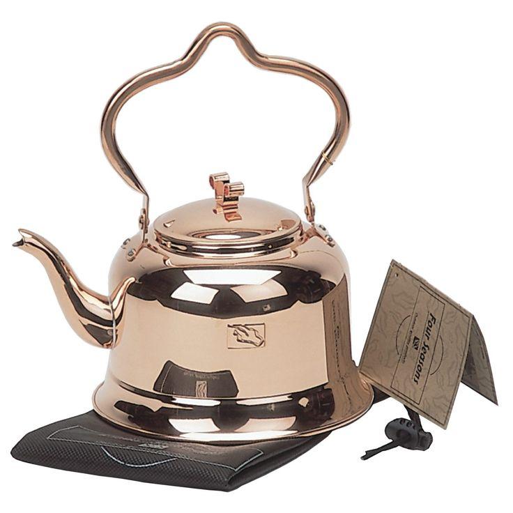 Les mer om Four Seasons Kaffekjele i kobber 1,8 liter. Trygg handel med Prisløfte og 100 Dagers Åpent Kjøp