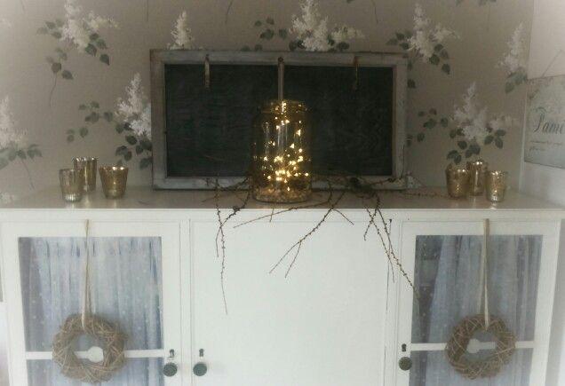 Man kan aldrig få för mycket ljus och ljudslingor under advent :-)