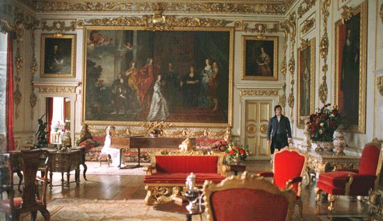 Wilton House Used As Pemberley Interior In 2005