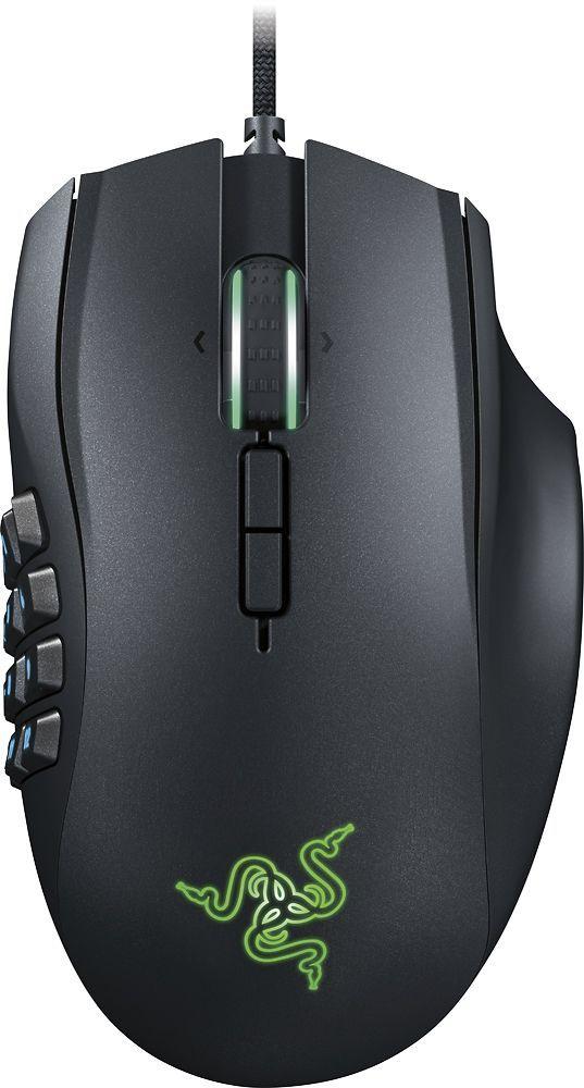 Razer - Naga Chroma USB MMO Gaming Mouse - Black