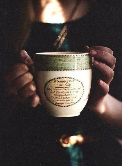осень, кружка кофе