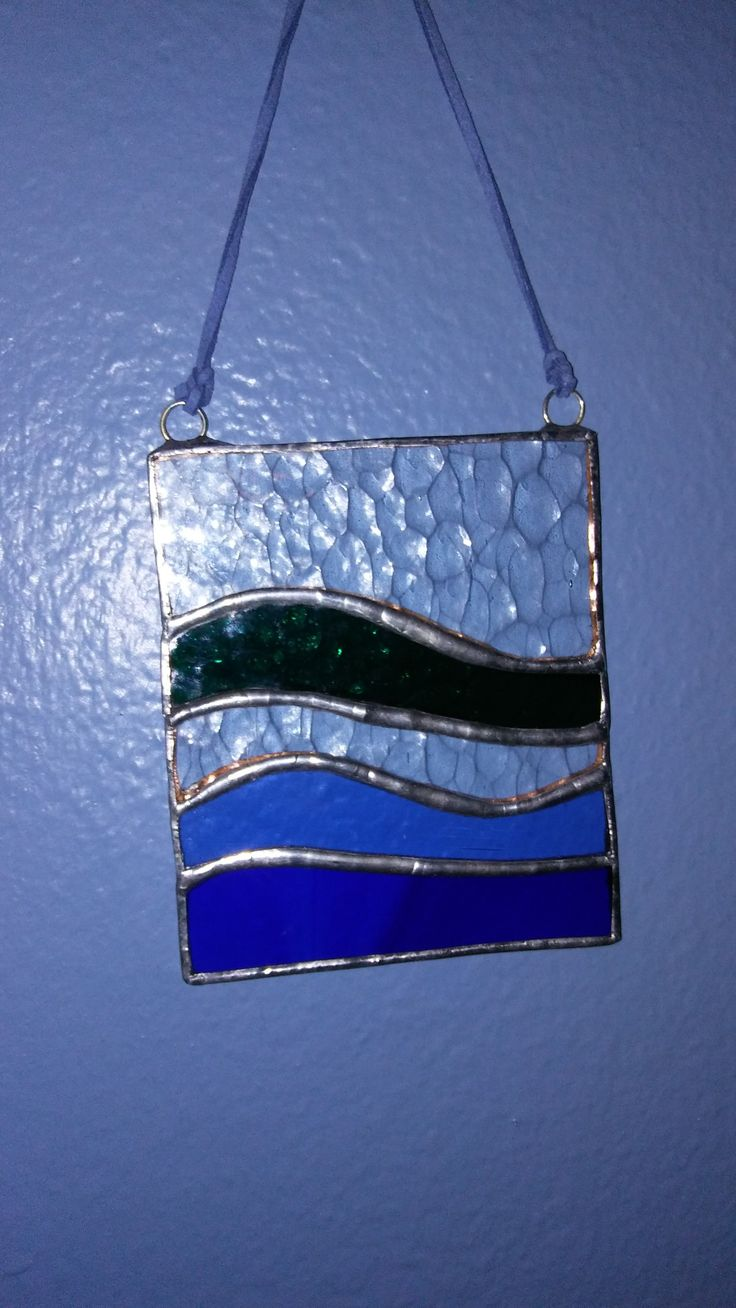 Stained glass suncatcher Laurie Roland