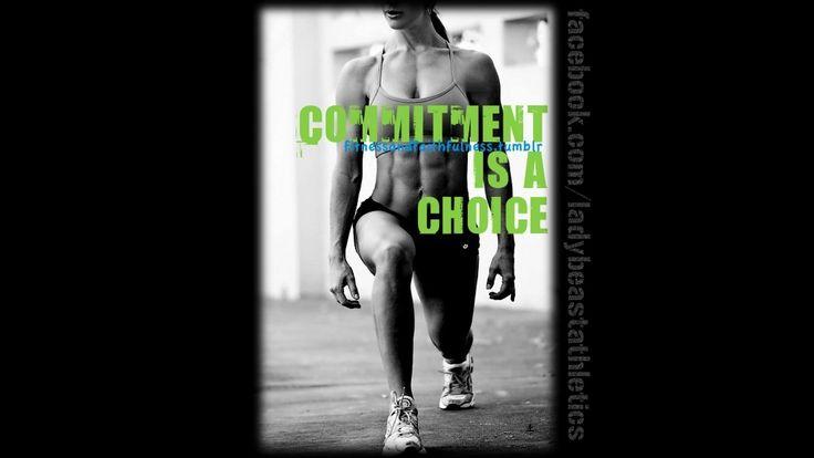 fitness motiviation | MOTIVATION POSTER: Commitment.. |