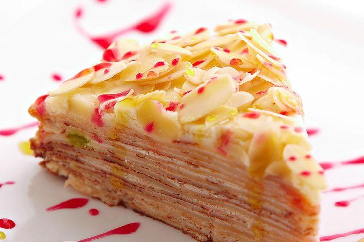 SOUND: http://www.ruspeach.com/en/news/10132/     Для приготовления блинного пирога нужно испечь блины и выбрать крем, который вы хотите использовать для вашего пирога. Вы можете взять мед, варенье, растопленный шоколад, сгущенное молоко или приготовить любой другой крем. Просто нама