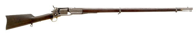 Revolver rifle.. why not. American Civil war Colt maybe?