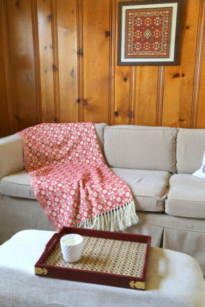 Designing Around Knotty Pine Wood Paneling - The Decorologist