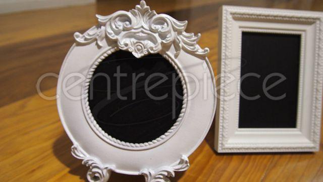 Table # Vintage Frame Assorted Blackboard White