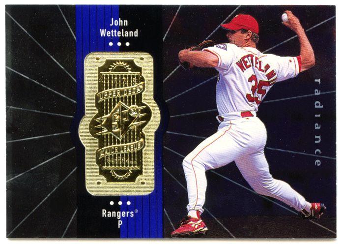 John Wetteland # 327 - 1998 Upper Deck SPx Finite Baseball Radiance