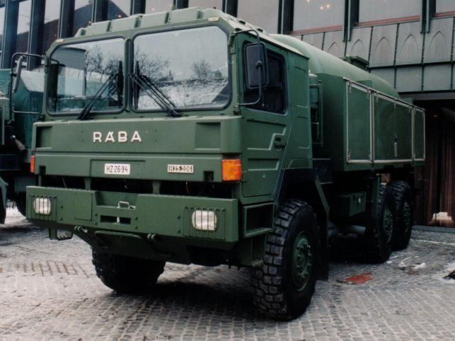 Rába H-25 terepjáró kamion   Forrás: wikipedia.org - PROAKTIVdirekt Életmód magazin és hírek - proaktivdirekt.com
