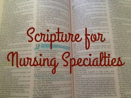 I couldn't get through Nursing School without my faith. The past year and a half of Nursing School have seen some of the most stressful, difficult, and often discouraging days of my life. (Fellow N...