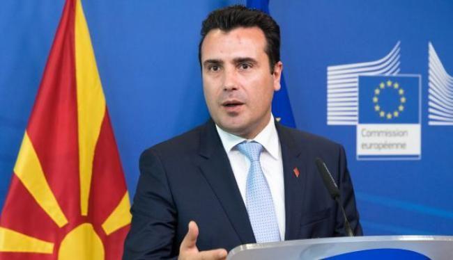 «Επίθεση» φιλίας στην Ελλάδα έκανε ο Σκοπιανός πρωθυπουργός Ζόραν Ζάεφ (φωτό), αλλά υπάρχουν σοβαρά ερωτήματα κατά πόσο είναι ειλικρινής ή εντάσσεται στο πλαίσιο μιας τακτικής να ωφεληθεί η χώρα του στις διεργασίες ένταξής της στο ΝΑΤΟ.
