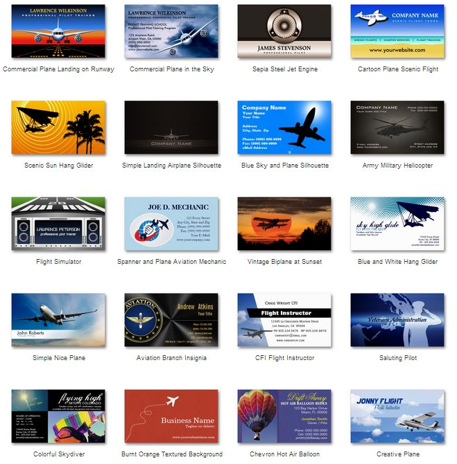 Here39s one for you pilots aviators aerospace engineers for Www aviationbusinesscards com
