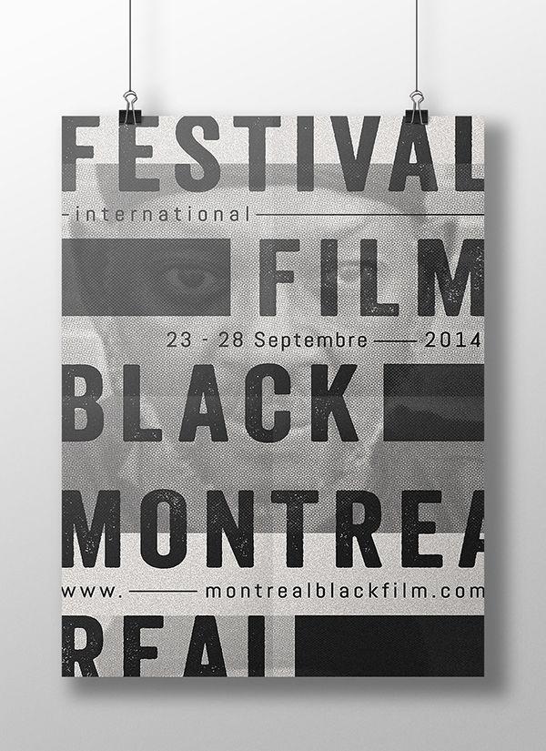 CONCOURS D'AFFICHES   Montreal International Black Film Festival, 10ème édition.