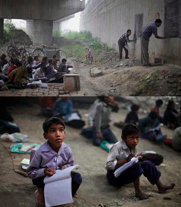 And these teachers, building a brighter future for India by any means possible. | 18 Photos The World Needs To See To Understand How Beautiful India Really Is