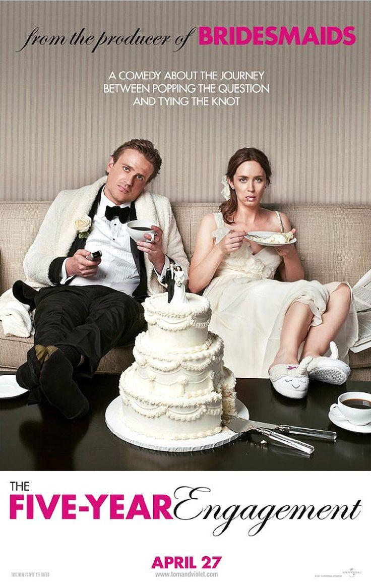 The Five Year Engagement (2012) - Jason Segel, Emily Blunt, Chris Pratt