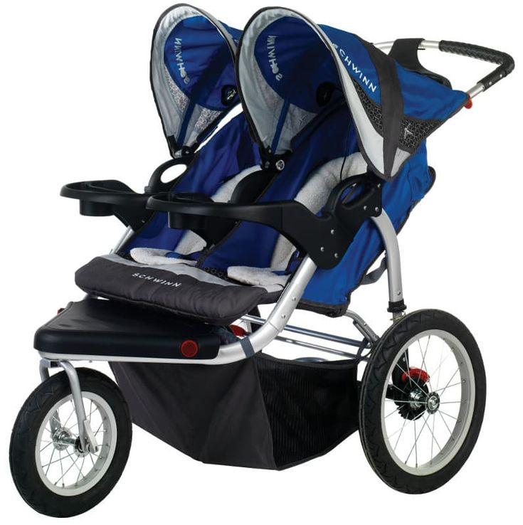 Baby Best Trend Navigator Double Jogging Stroller