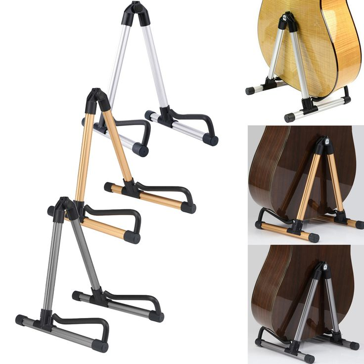 Guitar Stand Universal Folding A-Frame use for Acoustic Electric Guitars guitar floor stand holder  FE5#