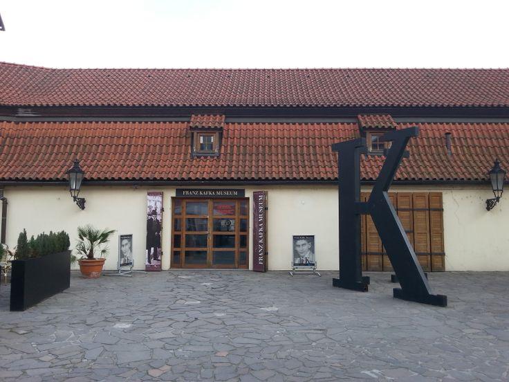 Kafka Múzeum, bejárat