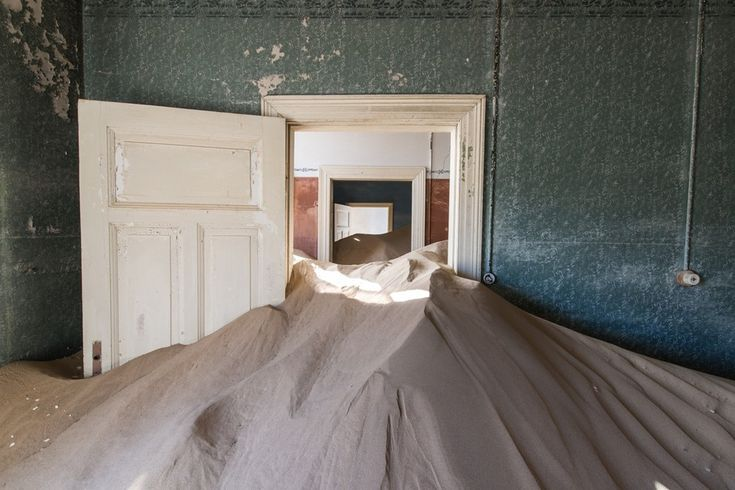 Kolmanskop by Romain Veillon, the Namibian town left to sink into sand
