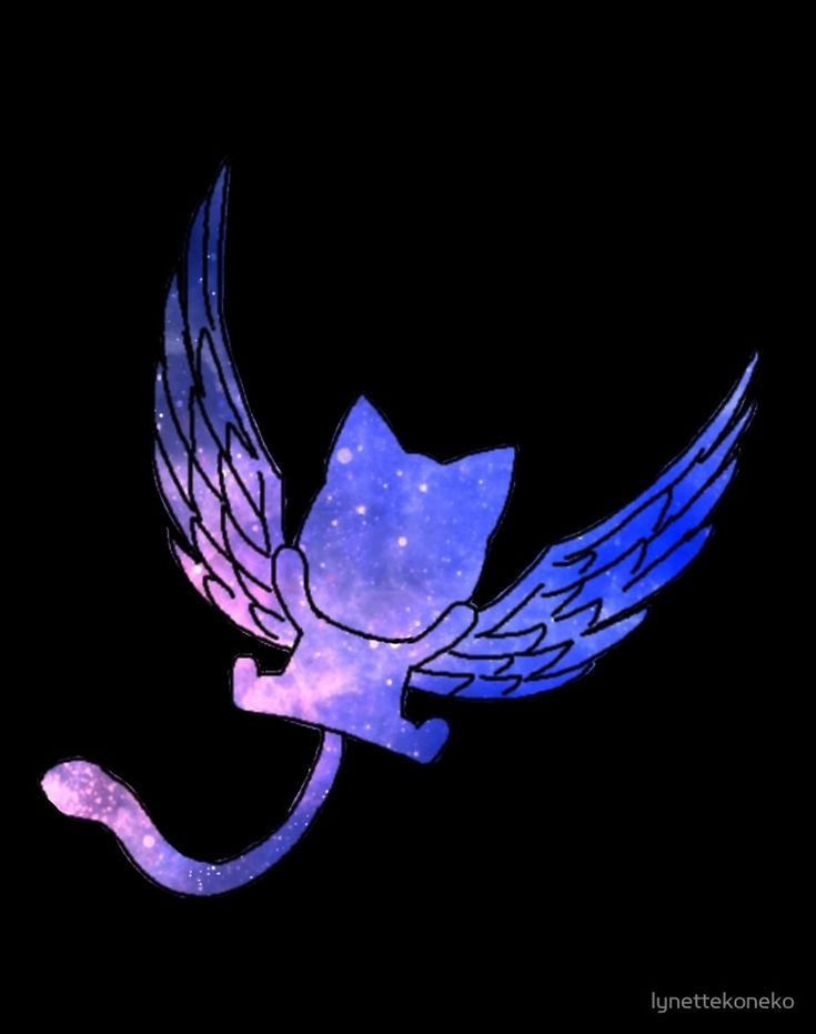 "Galaxy Fairy Tail Logo Design"" by lynettekoneko 