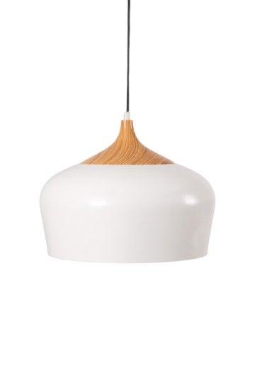 Manhattan Wood Top Hanging Pendant