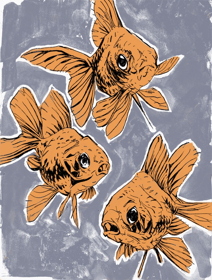 goldfish: Goldfish Obsession, Fishi Wishi, Kingyo Art, Silly Creatures