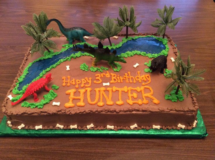 Coolest Birthday Cakes Dinosaur