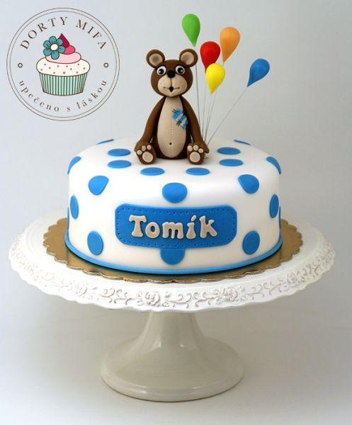 Teddy Bear Cake by Mifa