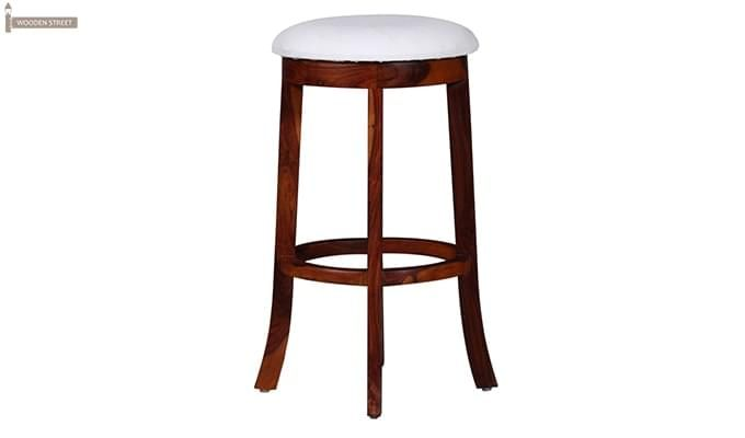 Buy Maher Bar Stool with Mahogany Finish online at great value prices from Wooden Street. Get amazing bar stools online with great discount that are available in variety of styles and shapes. Visit : https://www.woodenstreet.com/bar-stools