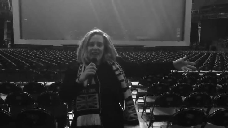 Adele posted this video on Twitter