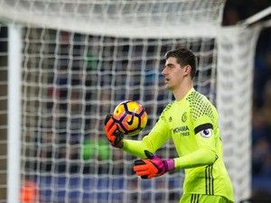 Chelsea goalkeeper Thibaut Courtois feared freak injury would end his season early