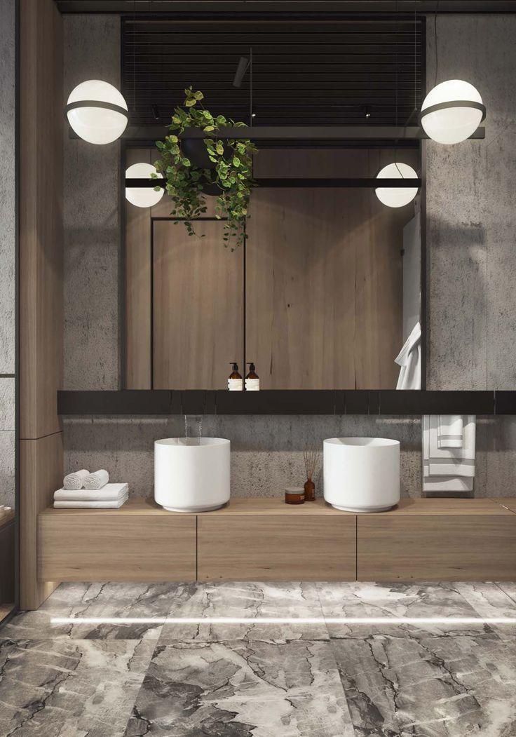 Kitchen Industrial Style Bathroom Industrial Bathroom Decor Bathroom Styling