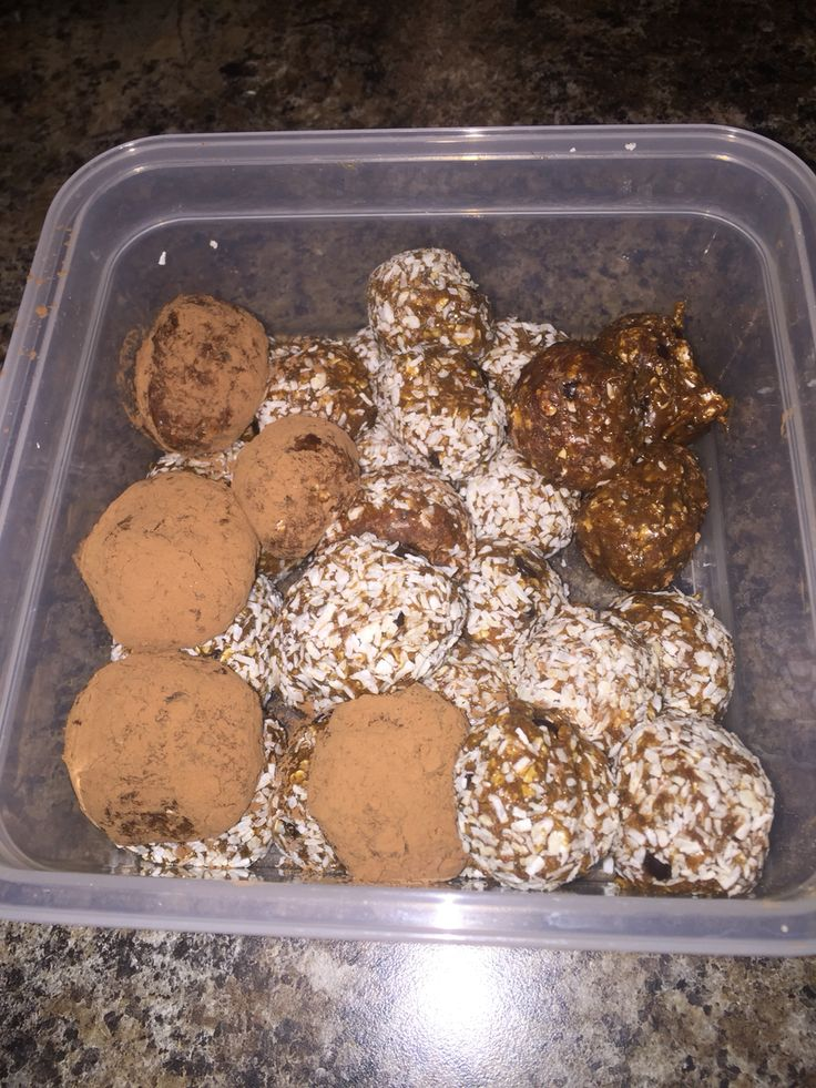 Cafe Latte Shakeology Espresso balls! Holy mother of God are these good! I'm still tweeting the recipe but these were hard to eat just one but also very filling. I rolled some in cocoa and some in unsweetened coconut flakes! I'm going to post on my blog once I get this nailed down. Www.michellelynnsmith.com